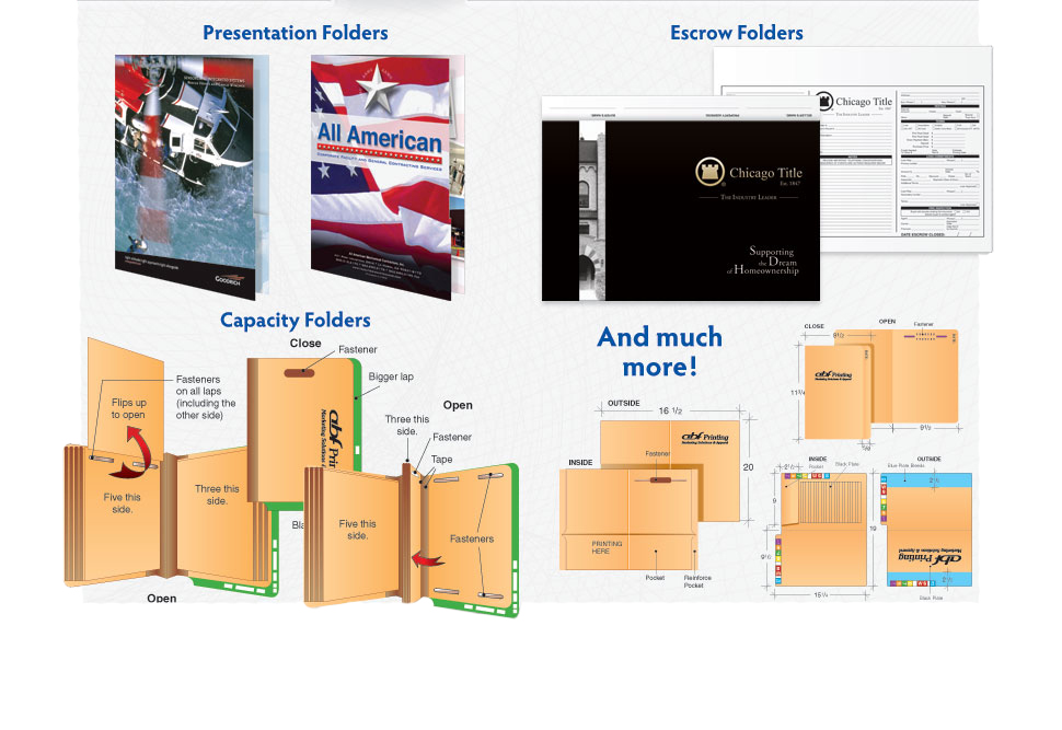 ABF Printing Folders